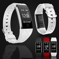S2 Heart Rate Monitor Sleep Sport Track Smart Watch Wrist Band Bluetooth New