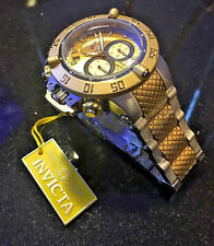 @NEW Invicta 50mm Subaqua Noma III Swiss Movt Two Tone Gold Tone Watch 15949