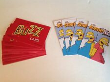 Scene It Simpsons Edition - Replacement Buzz Cards