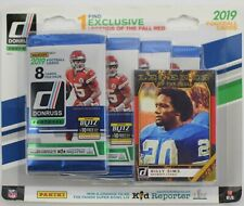 2019 Panini Donruss NFL Football card 4-Pack Blister box. WOW - Brand new