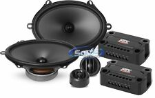 """MTX 360W 6 x 8"""" 2-Way Component Car Stereo Speaker System 