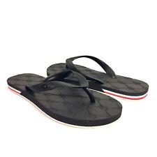 MONCLER Unisex Mens Womens Black Kilian Foam Logo Sandal Flip Flops (MSRP $225)