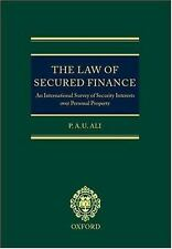 The Law of Secured Finance: An International Survey of Security Interests Over P