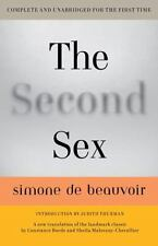 The Second Sex by Simone de Beauvoir (Paperback) NEW FREE SHIPPING