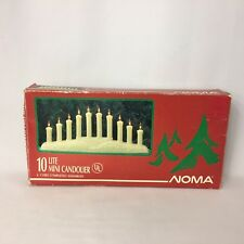 Vintage Mini Candolier Noma Window Candle 10 Lite Indoor Works in Box