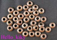 250pcs Antiqued copper plt smooth bead spacers A556