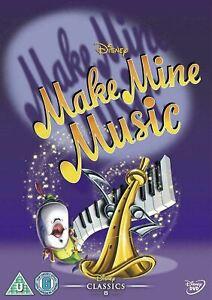 MAKE MINE MUSIC (1946) Region 2 [DVD] Walt Disney