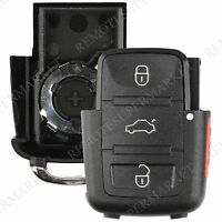Replacement for Volkswagen VW 02-05 Jetta Passat Remote Car Key Fob Shell Case