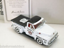 MATCHBOX YESTERYEAR YRS06-M Ford F100, Red Crown service d'urgence.