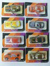Lot of 8 1983 JRI Die-Cast Cars w/Trans AM, Mazda, Camaro