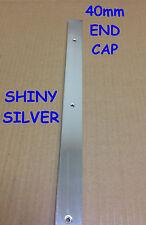 Cocina Encimera ribete ribete de plata brillante final de la PAC de 40 mm con tornillos * Barato Oferta