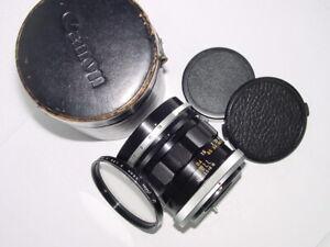 Canon 35mm F/2.5 FL FD Manual Focus Lens ** Ex++