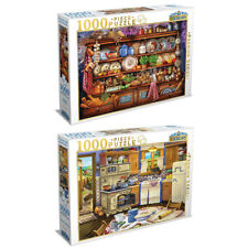2x 1000pc Tilbury Ye Olde Kitchen/Country Kitchen 69x50cm Jigsaw Puzzle Toys 8y+