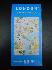 2012 London Olympic Games Map