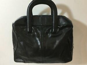 Next Small Black Leather Handbag