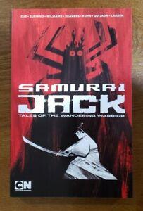 Samurai Jack: Tales of the Wandering Warrior Omnibus TPB GN OOP NEW IDW Jim Zub