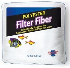 BLUE RIBBON POLY FLOSS 2 OZ FILTER FLOSS 100% POLYESTER. FREE SHIP TO THE USA