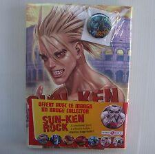 BD livre manga Sun Ken Rock Volume 8 avec badge Boichi Bamboo Doki Doki NEUF