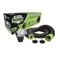Thetford Standard 17907 Titan Straight Sewer Adapter-Translucent Green