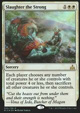 Slaughter the strong foil | nm | rival of ixalan | Magic mtg