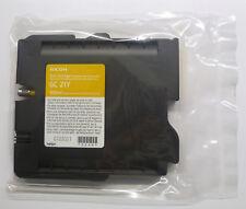 RICOH GC 21 Y GIALLO AFICIO gx3000s GX 3050n SFN gx2500 GX 5050n GX 7000 O.V.