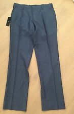 ZANEROBE BLUE SUIT PANTS SZ. 90R BRAND NEW WITH TAGS