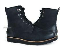 UGG Hannen TL Black Leather Fur Boots Mens Size 13 *NIB*