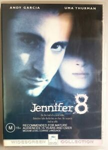 Jennifer 8 (DVD, 2003) Uma Thurman & Andy Garcia [EX RENTAL] - (Region 4)