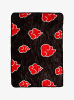 "Naruto Shippuden Akatsuki Cloud 45"" x 60"" Throw Blanket"