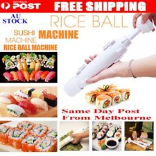 Sushi Bazooka Tool Roll Maker Kitchen Appliance Gourmet Cooking Tube Mold AU NEW