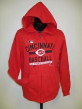 MLB Cincinnati Reds Femmes M Majestic Rouge Zip Entier Hoodie-Jacket