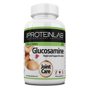 Glucosamine Sulphate 1500mg 2KCL  Tablets Pills Free UK P & P