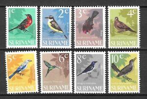 Suriname 1966 Wildlife Fauna Birds Vögel Oiseaux compl. set MNH
