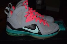 Nike LeBron 9 P.S. Elite 'South Beach' 516958 001 Size 10