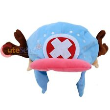 One Piece Chopper Plush Hat Costume Cap with Ear Flaps One Size