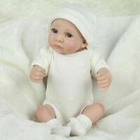 10'' Reborn Baby Dolls Lifelike NewbornVinyl Silicone Realistic Doll Gifts US