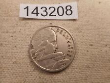 1955 France 100 Francs Shilling Very Nice Collector Grade Album Coin - # 143208