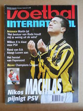 VOETBAL INTERNATIONAL 03-12-1997 Nikos Machlas Vitesse  [P66]