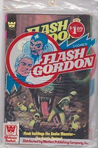 Flash Gordon 3-pack vintage Whitman in original sales bag bag is opened