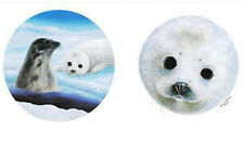 """WYLAND NEW DIPTYCH LITHO """"SAVE THE SEALS""""  S/N WITH COA"""