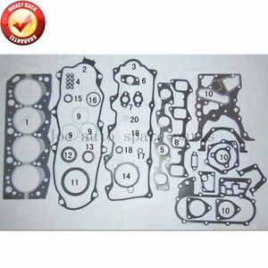 2LT 2L-T Engine Full gasket set kit for Toyota Land Cruiser/4Runner/Hilux/Hiace/