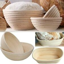 Bread Proofing Basket Dough Rattan Bread Basket Round Oval NEW