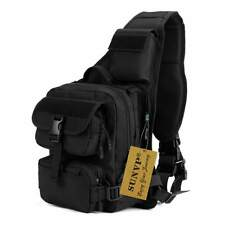 SUNVP Tactical Military Daypack Sling Chest Pack Bag Molle Laptop Backpack
