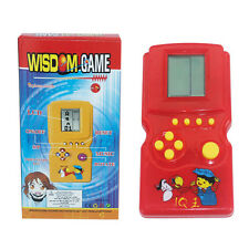 Send Random 90S Tetris Game Hand Held LCD Electronic Game Kids Toys Nostalgic