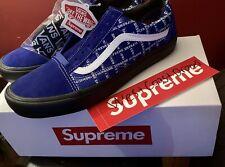 Vans Supreme Old Skool Blue *11.5* ✅FW20 + Free Sticker