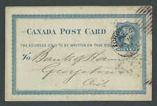 1878 PC BLUE PC BANK OF TORONTO CANADA NOTICE OF FUNDS RECEIVED