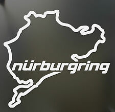 Nurburgring sticker Funny JDM BMW honda race car track window decal