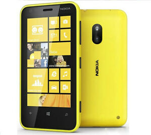 "Nokia Lumia 620 3G Wifi 5MP Dual Core 8GB GPS Original Unlocked Windows OS 3.8"""