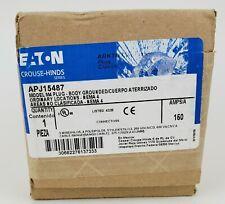 EATON CROUSE-HINDS APJ15487 MODEL M4 PLUG 150 AMP, NEW!
