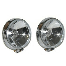 Pair 12V White Car Round DRL Running Daytime Driving Fog Light Lamp Bulbs H3 55W